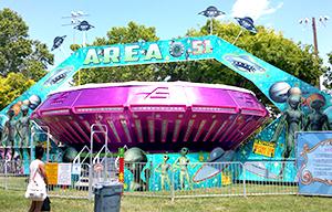 Area 51 Carnival Ride