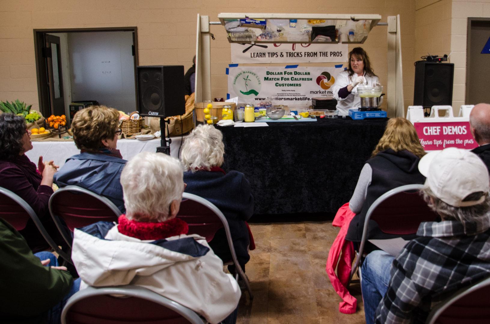 Cloverdale Citrus Fair Chef Demos