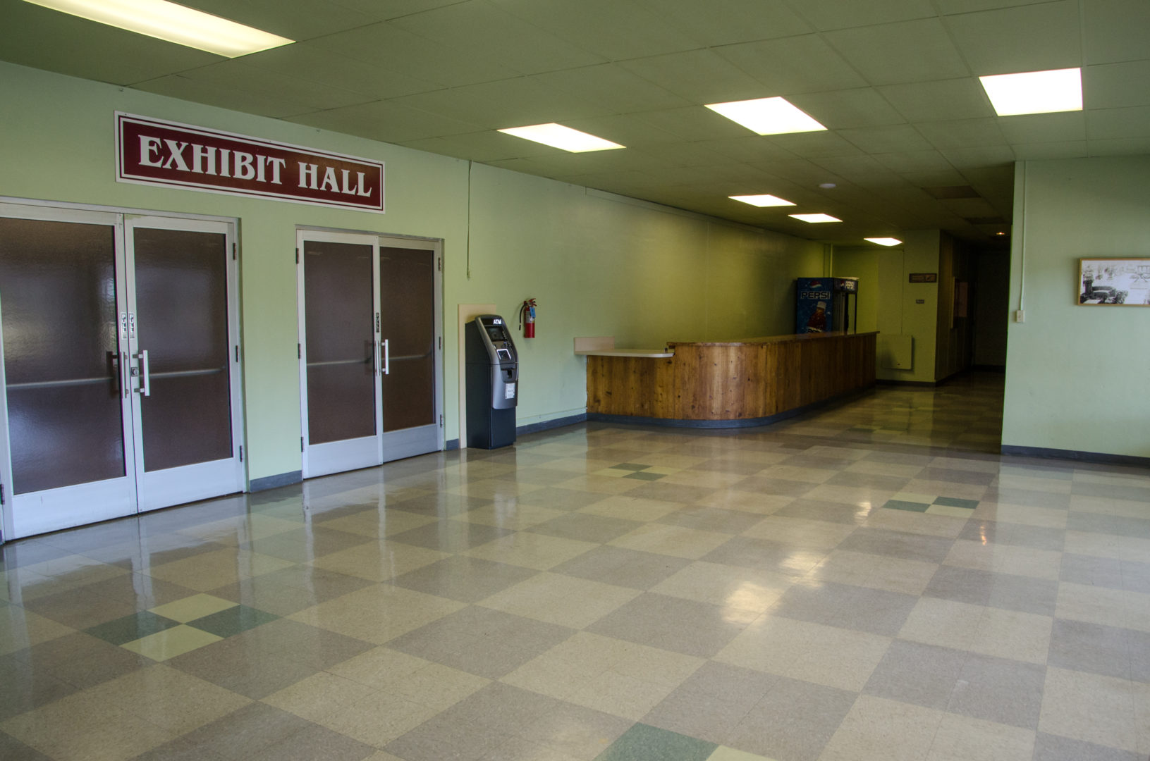 Exhibit Hall Facilities Available for Rent
