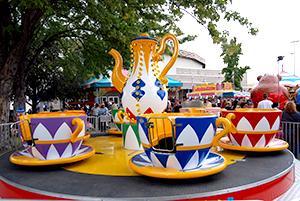 Tea Cups Carnival Ride