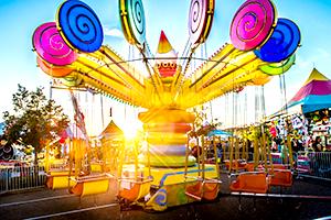 Lolli Swing Carnival Ride
