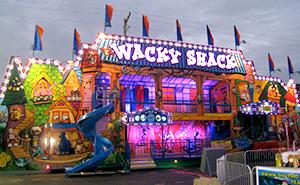 Wacky Shack Carnival Ride