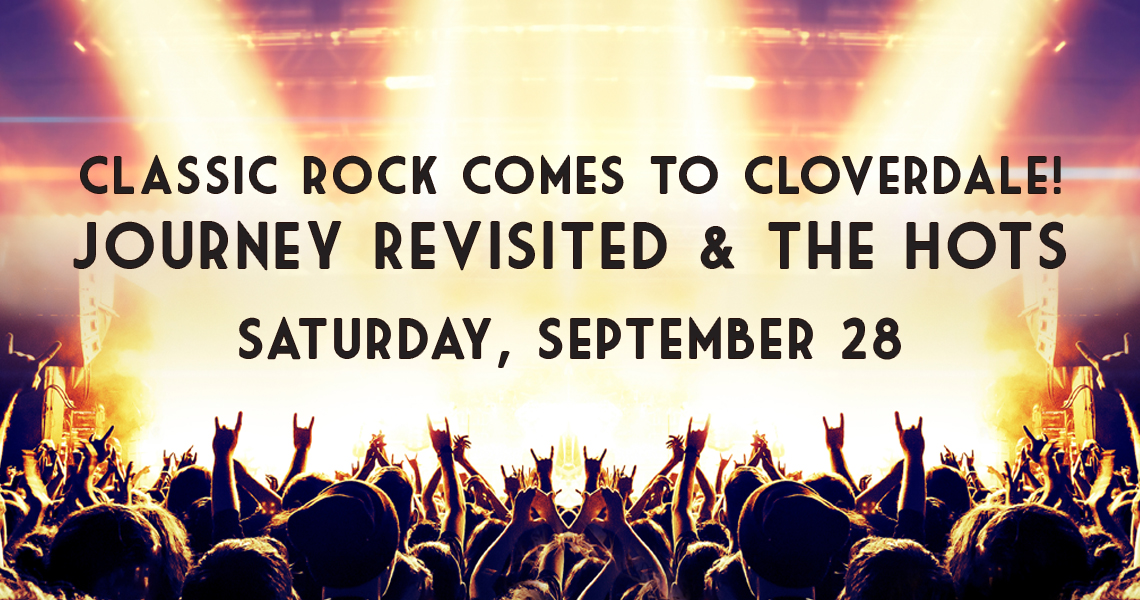 Classic Rock Concert comes to Cloverdale!