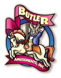 Butler Amusements Midway