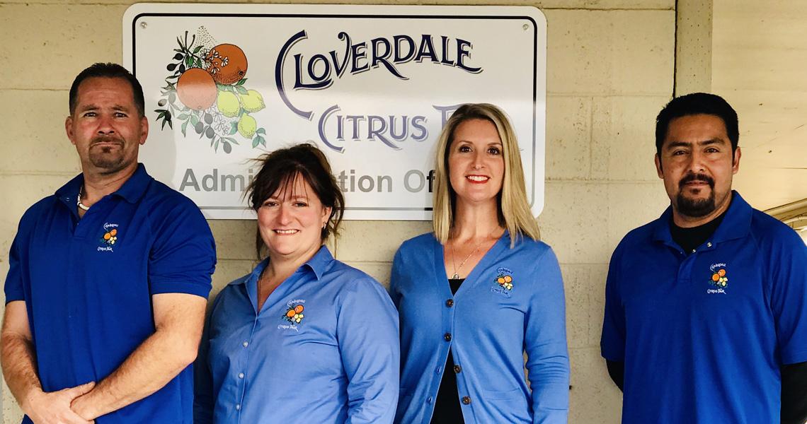 Citrus Fair Team: Jeff Hooley, Maintenance Nicholena Sorensen, Business Assistant Katie Young, CEO Roman Suarez, Maintenance