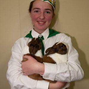 Junior Rabbit Showmanship Entry