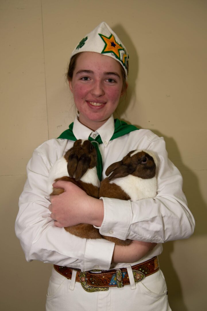 Junior Rabbit Showmanship Entry
